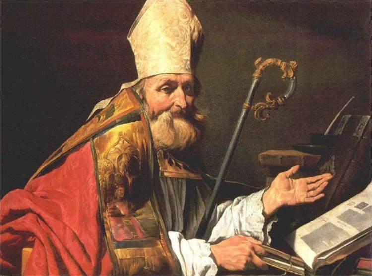 St. Ambrose, by Matthias Stom (c.1600–c.1652)