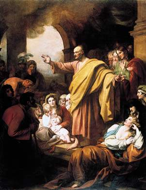 Benjamin West, St. Peter Preaching at Pentecost