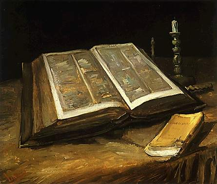 Bible painting