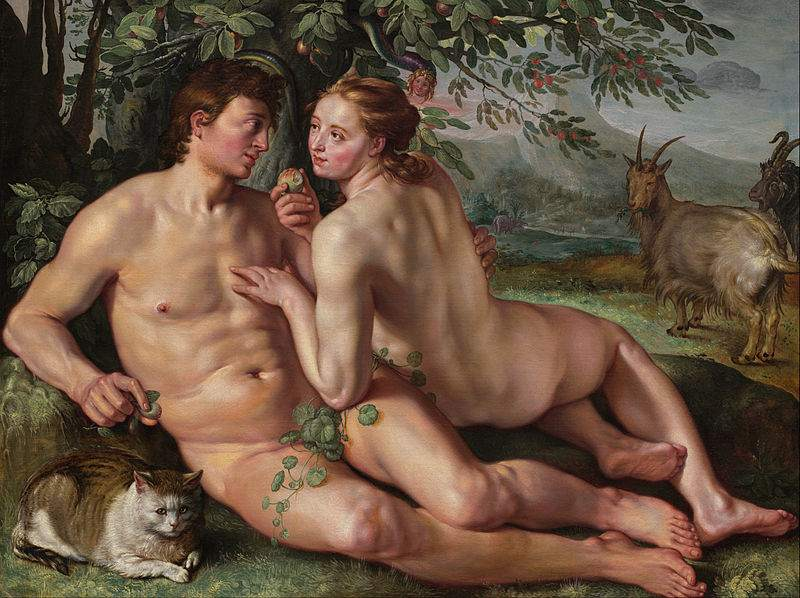 Hendrik Goltzius, The Fall of Man