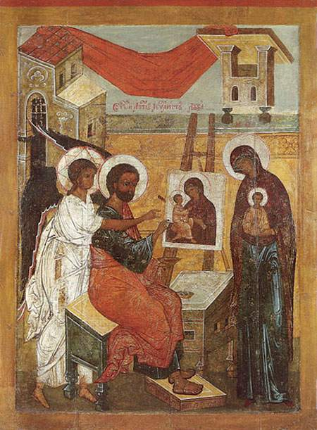 St. Luke as iconographer