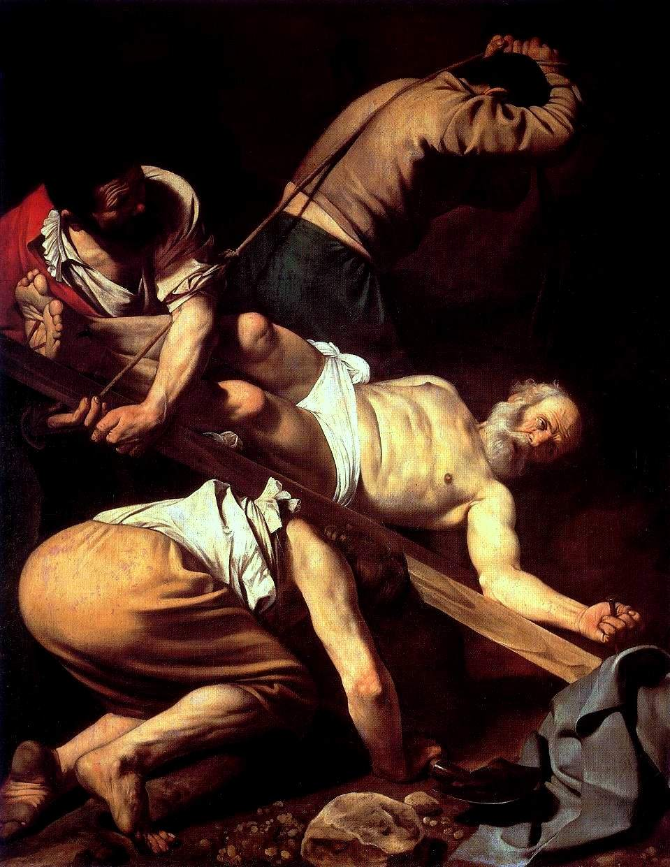 Caravaggio, The Crucifixion of St. Peter