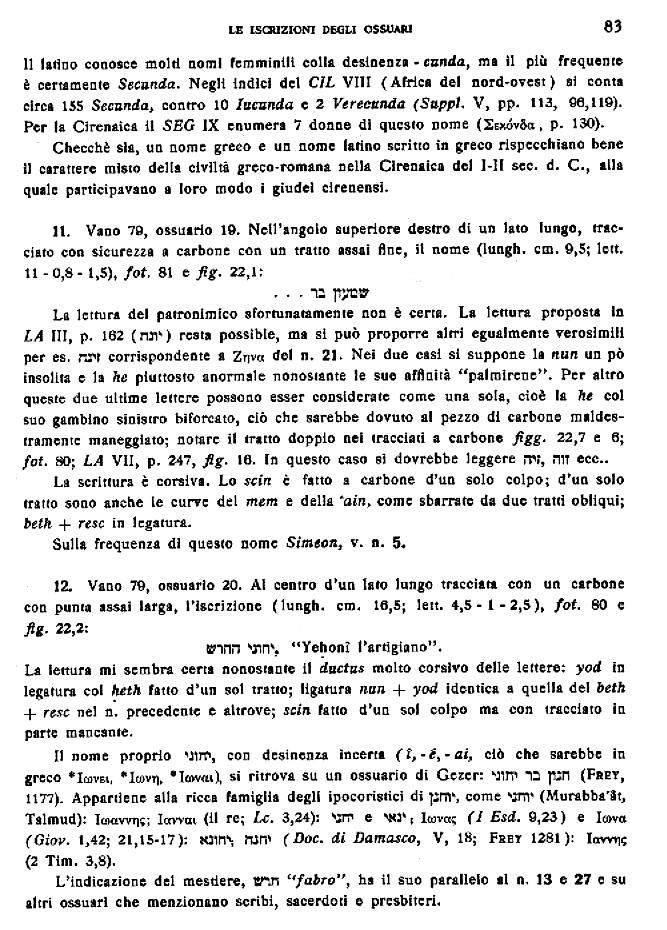 Page 83 of Gli Scavi del Dominus Flavit