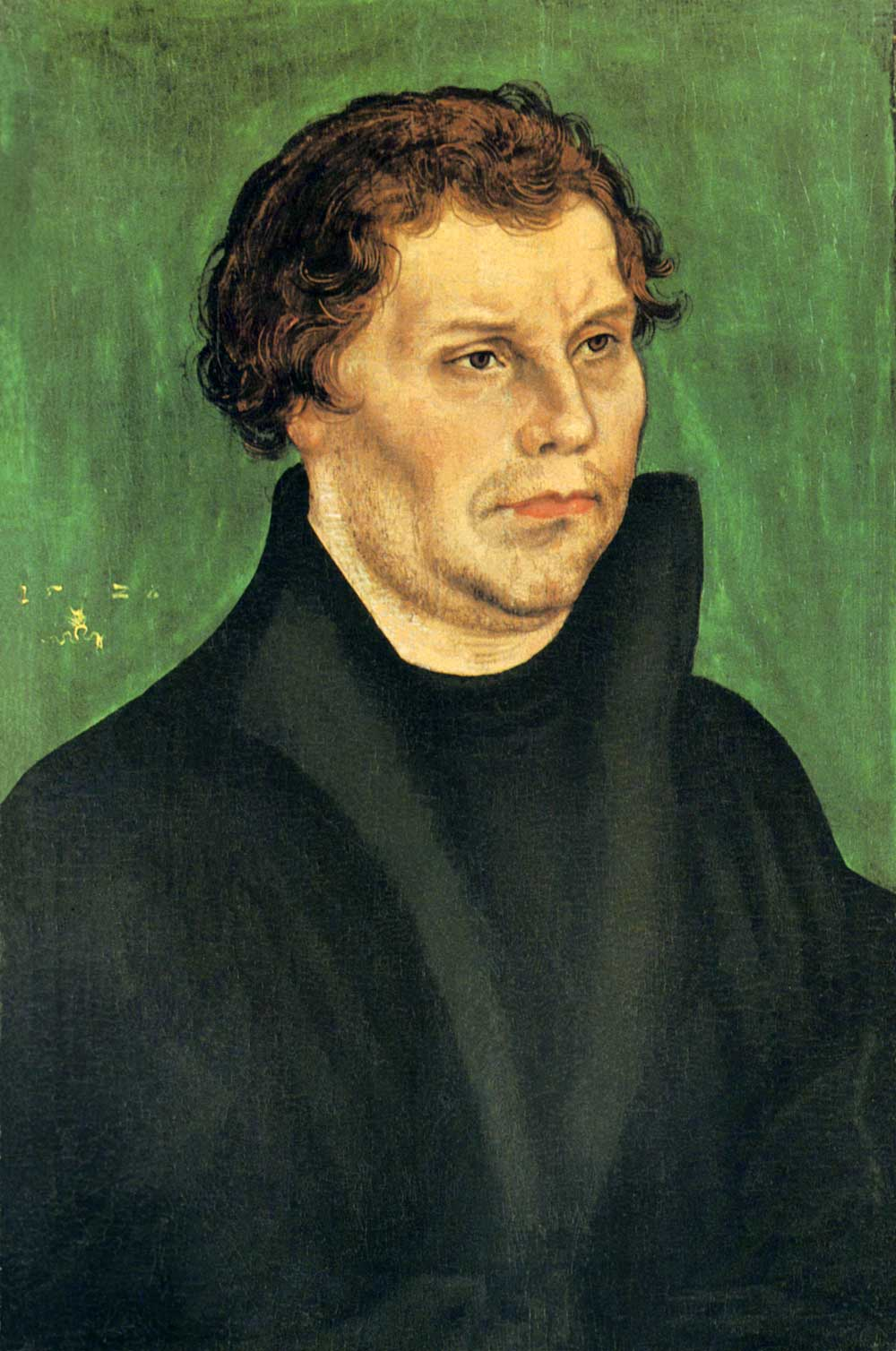 Luther, Lucas Cranach the Elder, 1526.