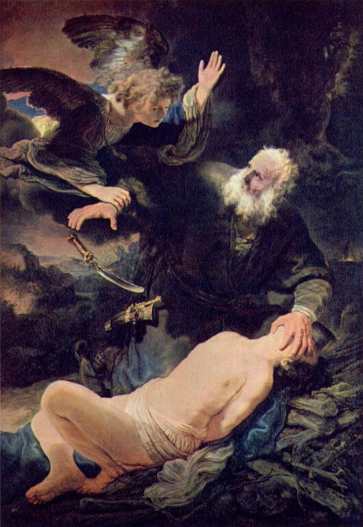 Rembrandt. The Sacrifice of Isaac. 1635.