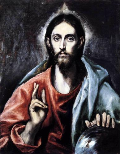 El Greco, Christ blessing (The Saviour of the World)