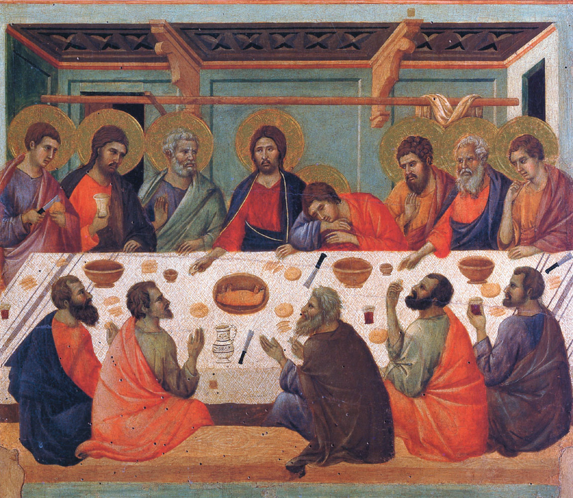 Duccio, The Last Supper (c. 1311)