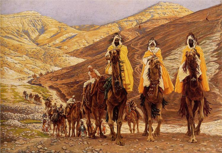 Journey of the Magi (c. 1894), by James Tissot