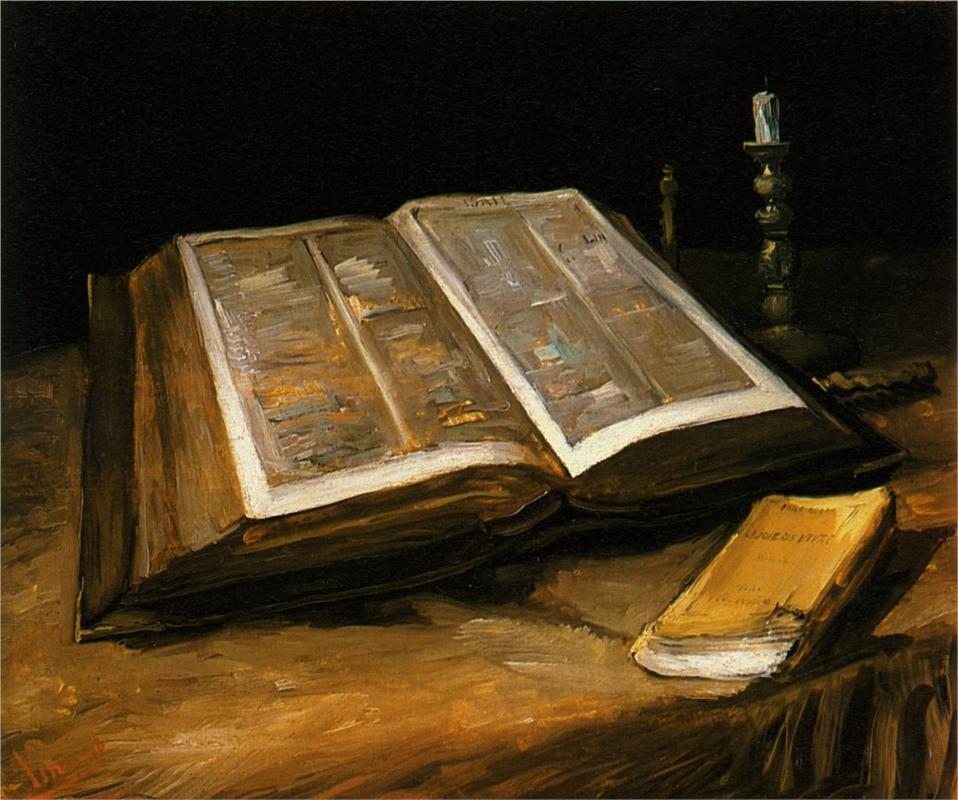 Van Gogh, Still Life with Bible (c.1885)