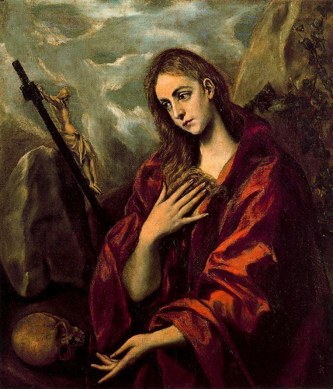 El Greco. Penitent Magdalene. c. 1590.
