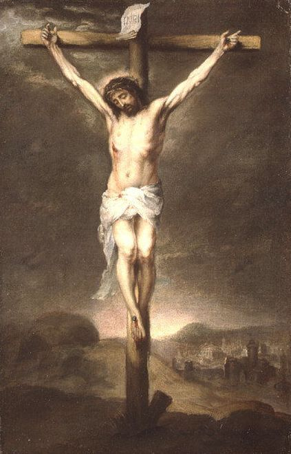 Murillo, Christ on the Cross (1665)