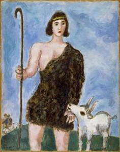 Marc Chagall. Joseph, A Shepherd. 1931.