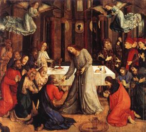 Van Gent, Institution of the Eucharist (c. 1474)
