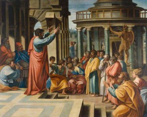 Paul Preaching in the Areopagus, Sir James Thornhill