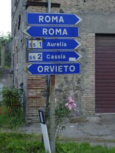 Roma signposts