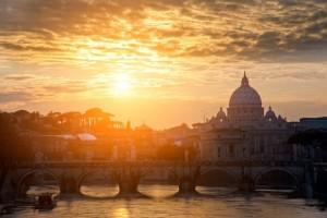 Roma sunrise