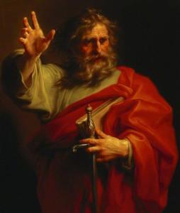 Pompeo Batoni, St. Paul (c. 1740)
