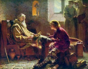 The Venerable Bede translating John