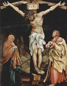 Grunewald, Crucifixion, Tauberbischofsheim altarpiece