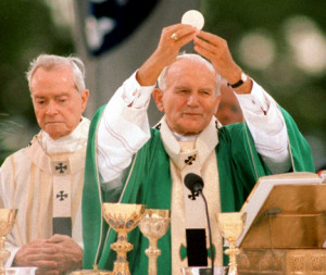 Pope John Paul II New Orleans 1987
