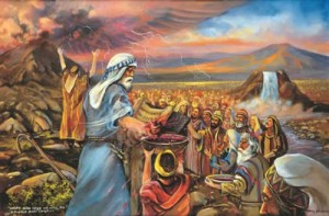 Moses concludes his covenant