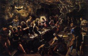 Tintoretto, The Last Supper  (1592-1594)