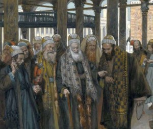 James Tissot, The Chief Priests Take Counsel Together