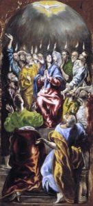 Pentecostes, El Greco_1597