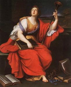 Clio, Mignard (Muse of History)