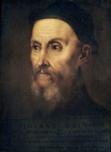John Calvin, by Titian (16th century) (Wikimedia).