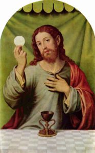 Juan de Juanes, Christ and the Eucharist (16th century)