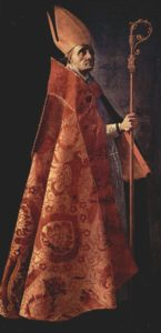 St. Ambrose, by Francisco de Zurbarán
