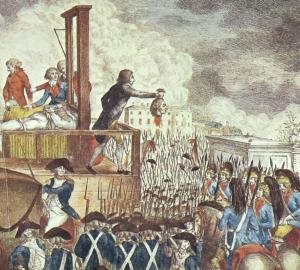 Georg Heinrich Sieveking, Execution of Louis XVI (1793)