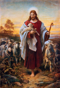 The Good Shepherd, Bernhard Plockhorst