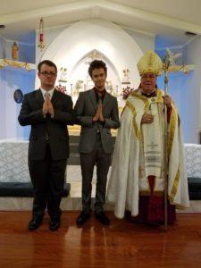 Joseph Richardson, Jason Parker, Bishop Baker