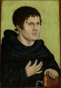 Luther as an Augustinian Monk