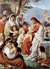 Bernhard Plockhurst, Jesus Blessing the Children