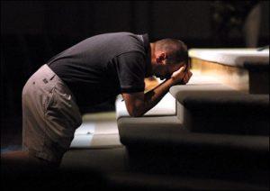 Repentance, altar call