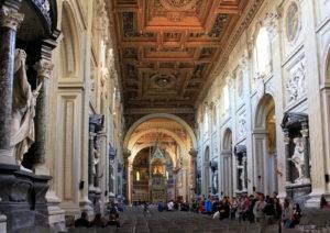 St. John Lateran, interior