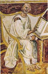 St. Augustine, Lateran fresco
