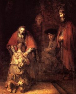 Rembrandt, The Return of the Prodigal Son (1669)